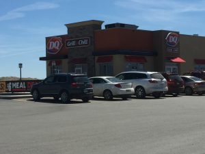 One of the new format DQ Grill and Chill Restaurants.